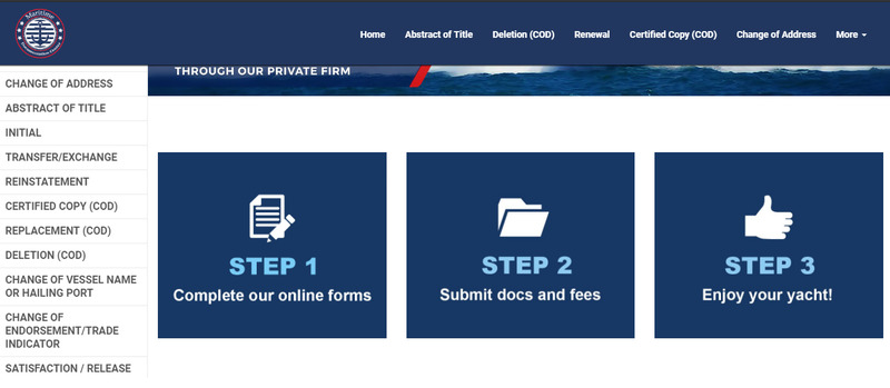 National Vessel Documentation Center Forms